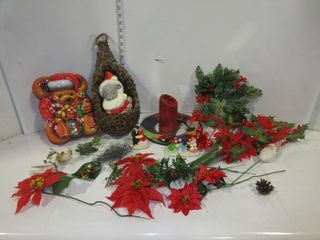 lOT  CHRISTMAS CRAFT ITEMS  MISC