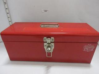 TOOl BOX W  CONTENTS   RED