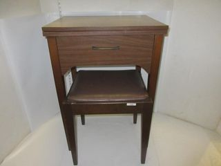 SEWING MACHING CABINET   STOOl