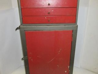 TOOlBOX ON WHEElS   RED