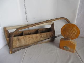 WOOD TOOl CADDY  lIGHT  SAW