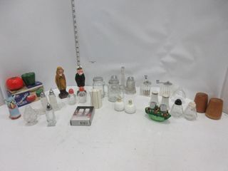 lOT  SAlT   PEPPER SHAKERS  MISC