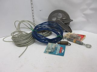 lOT  ClOTHES lINE  REEl  MISC