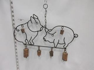 WAll HANGING   PIGS   BEllS