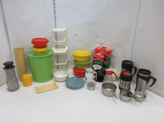 lOT  TUPPERWARE  MISC