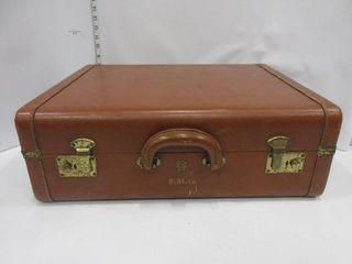 SUIT CASE   BROWN