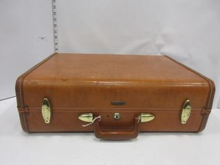 SUIT CASE   SAMSONITE BROWN
