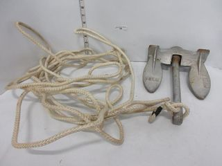 10lB ANCHOR W  ROPE