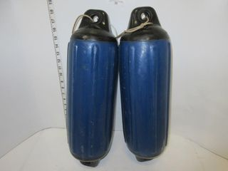2 BOAT BUMPERS   BlUE