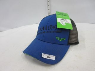 HAT   TEXTRON  BlUE