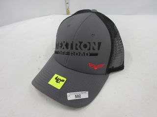 HAT   TEXTRON  GREY