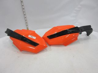 HAND GUARDS   ARTIC CAT   ORANGE