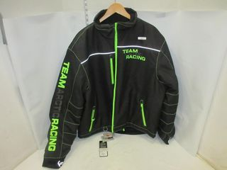 JACKET   BlACK lIME  Xl