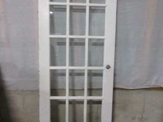 PANED DOOR   WHITE