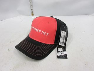HAT   MOTORFIST RED