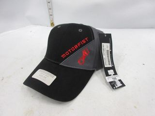 HAT   MOTROFIST BlACK GREY