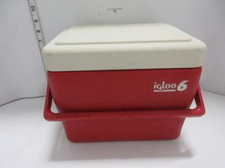 COOlER   IGlOO  RED