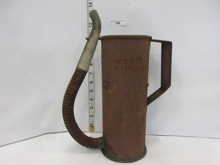STEEl OIl PITCHER