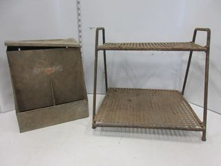 FEEDER  METAl SHElF