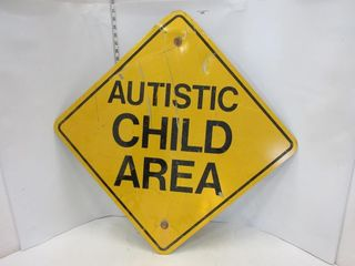 SIGN  AUTISTIC CHIlD AREA