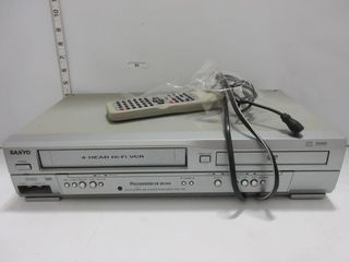 VCR   DVD PlAYER   SANYO