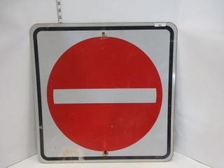 SIGN  DO NOT ENTER