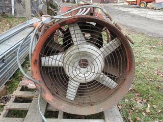 Drying Bin Parts   Fan  Transition and Floor