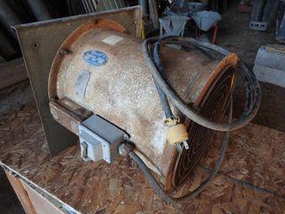14 inch Grain Bin Aeration Fan and Motor