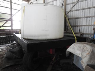 20 Ton Double Reach Wagon with Water Tank