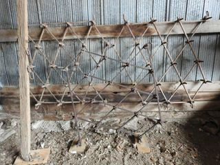 3 Section 12ft  Wide Diamond Tooth Harrows