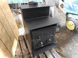 Crafted Wood Stove