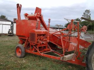 Ford  Woods  Pull Type Combine Model 16 46