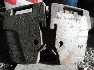 Four Massey Ferguson Front Tractor Weights