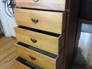 High Boy Five Drawer Dresser