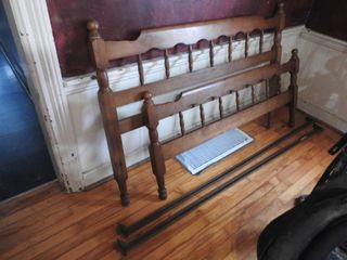 Maple Bed Frame 6ft 2 inches long X 50 inches
