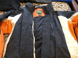 Mens ll Bean snowboarding jacket large