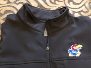 KU full zip fleece jacket Xl