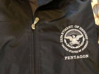 Mens Pentagon and Dept of Defense waterproof jackets  Xl