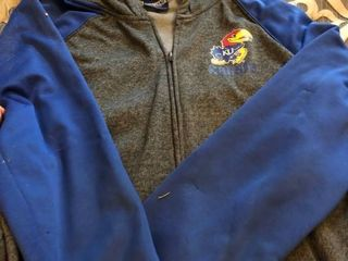 KU blue full zip jacket XXl