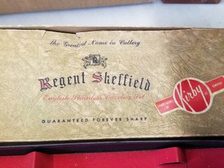 Regent Sheffield carving set