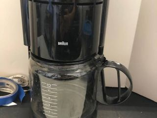 Braun coffee pot