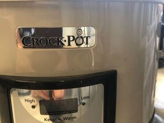 Black crock pot