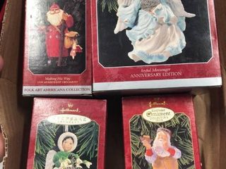 Hallmark Assorted Christmas Ornaments