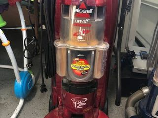 Bissell Revolution turbo vacuum works