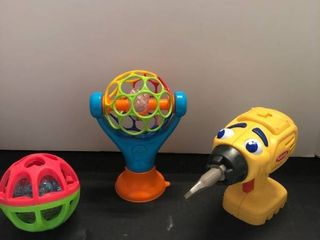 Playschool drill and assorted light up balls