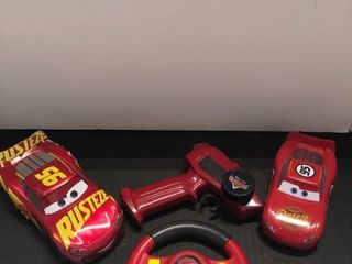 lightning McQueen cars and remotes