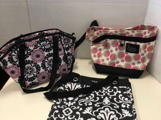 Thirty One Assorted organizing bags and lunch bag