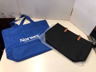 Norwex and medium black tote bag