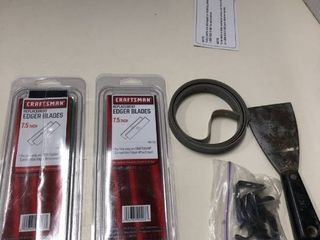 Craftsman Edger replacement blades and misc tools