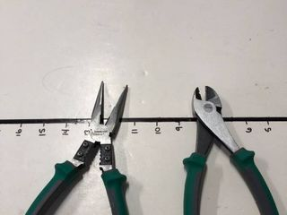New Commercial Electric long pliers and diagonal pliers